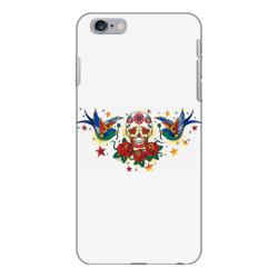 Skull, Birds, Rose iPhone 6 Plus/6s Plus Case | Artistshot