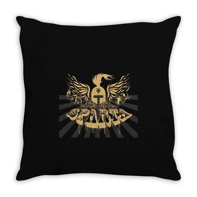 Sparta Throw Pillow | Artistshot