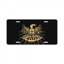 Sparta License Plate | Artistshot