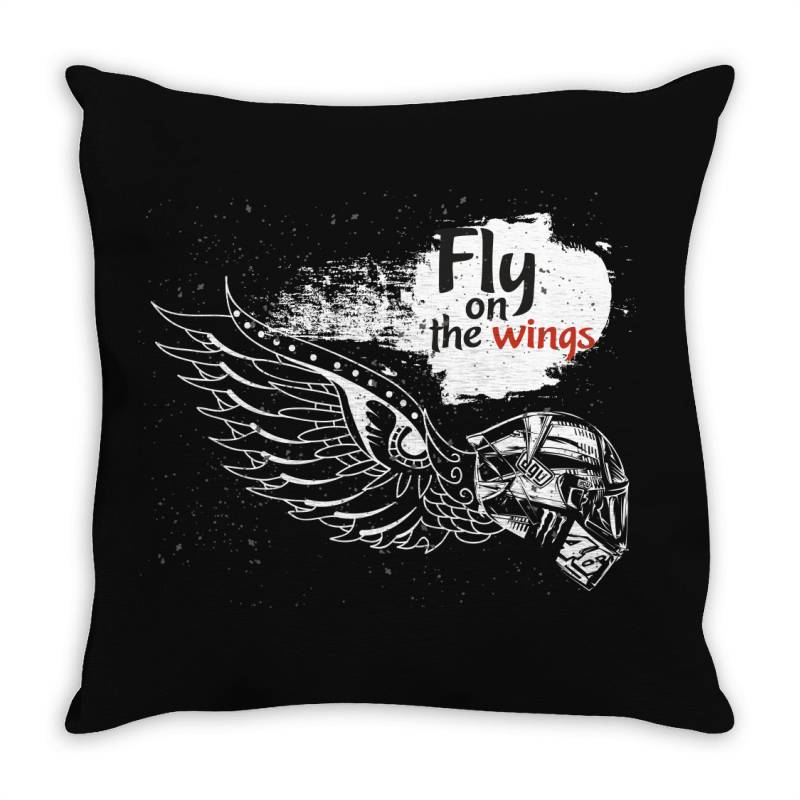 Fly On The Wings Throw Pillow | Artistshot