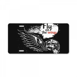 Fly on the wings License Plate | Artistshot