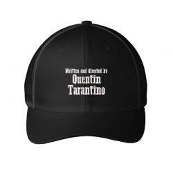 Quentin Tarantino embroidered hat Embroidered Mesh cap   Artistshot
