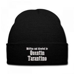 Quentin Tarantino embroidered hat Knit Cap   Artistshot