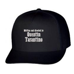 Quentin Tarantino embroidered hat Trucker Cap   Artistshot