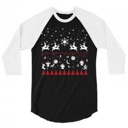 Merry Xmas 3/4 Sleeve Shirt   Artistshot