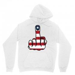 Middle Finger USA Flag Unisex Hoodie | Artistshot