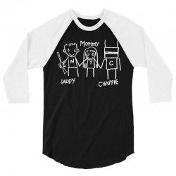 Daddy - Mommy - Chappie 3/4 Sleeve Shirt   Artistshot
