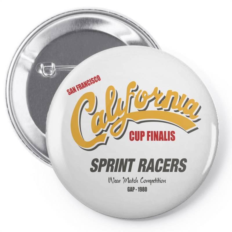 California Pin-back Button   Artistshot