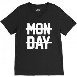 Monday V-Neck Tee | Artistshot