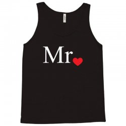 Mr with heart dot (Mr and Mrs set) Tank Top   Artistshot