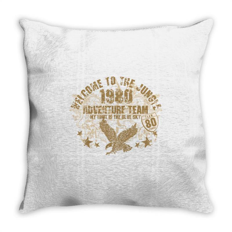 Welcome To The Jungle Throw Pillow | Artistshot