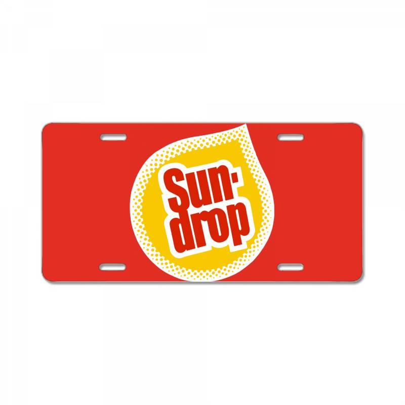 Sun Drop License Plate | Artistshot