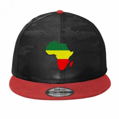 Africa Map Embroidery Embroidered Hat Camo Snapback Designed By Madhatter