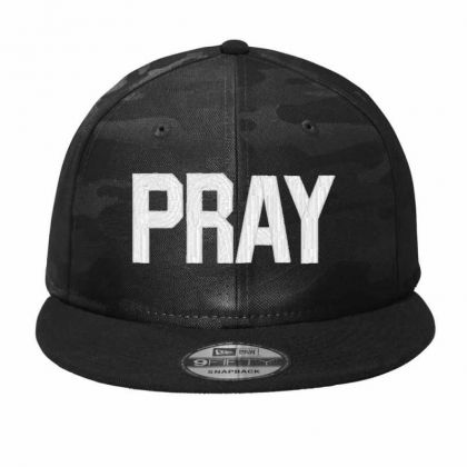Pray  Embroidery Embroidered Hat Camo Snapback Designed By Madhatter