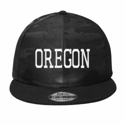Oregon  Embroidery Embroidered Hat Camo Snapback Designed By Madhatter