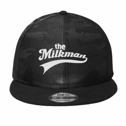 The Milk Man Embroidery Embroidered Hat Camo Snapback Designed By Madhatter