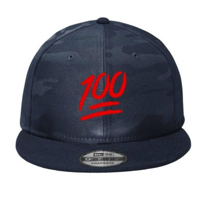 100 Emoji Embroidery Embroidered Hat Camo Snapback Designed By Madhatter