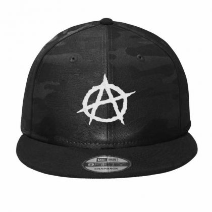 Anarchy Embroidery Embroidered Hat Camo Snapback Designed By Madhatter