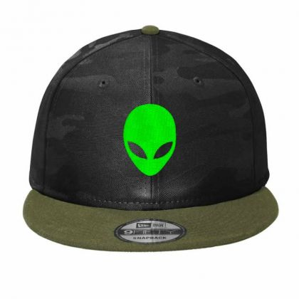 Alien Head Embroidery Embroidered Hat Camo Snapback Designed By Madhatter
