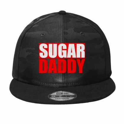 Sugar Daddy Embroidered Hat Camo Snapback Designed By Madhatter