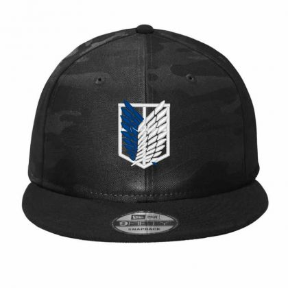 Attack Titan Camo Snapback Designed By Madhatter