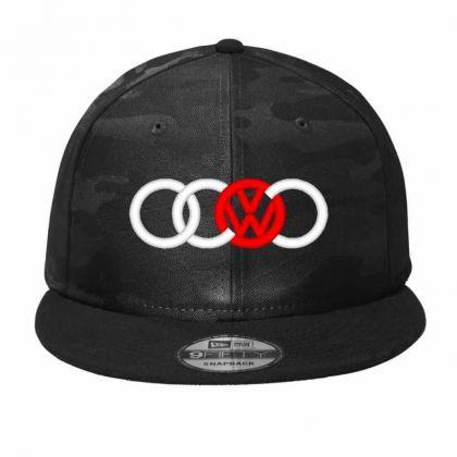 Audi Volkswagen Dope Camo Snapback Designed By Madhatter