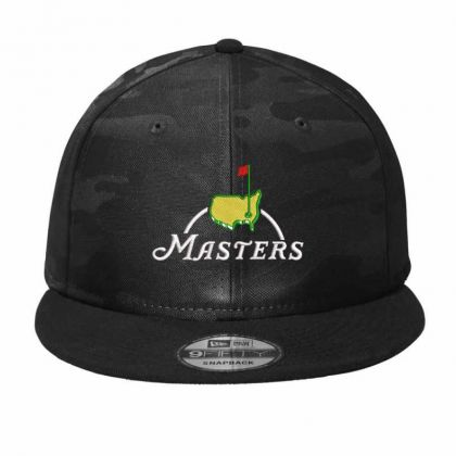 The Master Embroidery Embroidered Hat Camo Snapback Designed By Madhatter