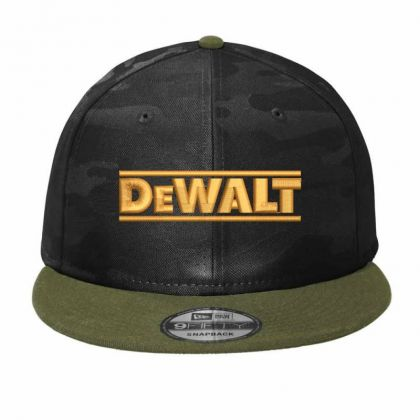 Dewalt Embroidery Embroidered Hat Camo Snapback Designed By Madhatter
