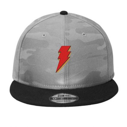 Shazam Embroidery Embroidered Hat Camo Snapback Designed By Madhatter