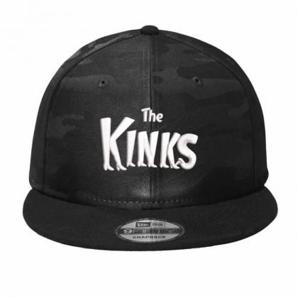 The Kinks Product Embroidery Embroidered Hat Camo Snapback Designed By Madhatter