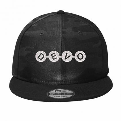 Devo Embroidery Embroidered Hat Camo Snapback Designed By Madhatter