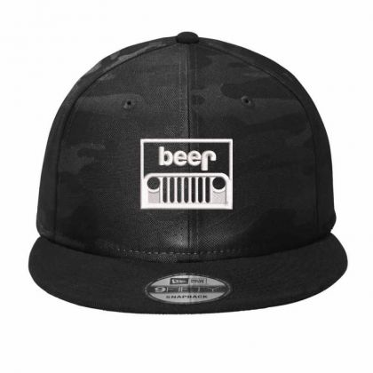 Jeep Beer Embroidery Embroidered Hat Camo Snapback Designed By Madhatter