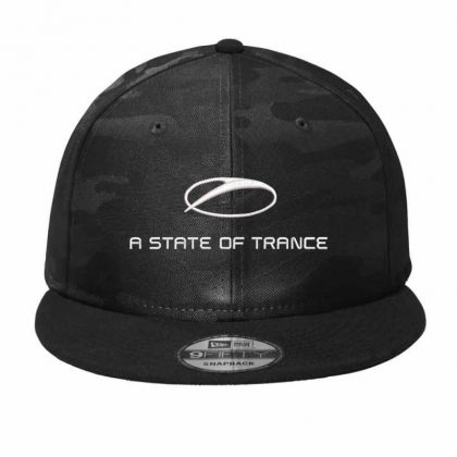 Armin A State Of Trance Embroidered Hat Camo Snapback Designed By Madhatter