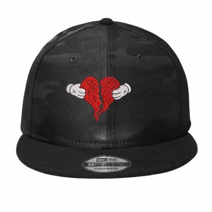 Kanye West 808s And Heart Break Embroidered Hat Camo Snapback Designed By Madhatter