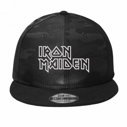 Iron Maiden Embroidered Hat Camo Snapback Designed By Madhatter