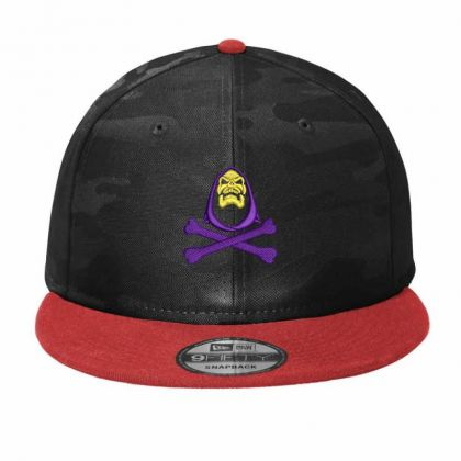 Of The Universe Retro Skeleton Embroidered Hat Camo Snapback Designed By Madhatter