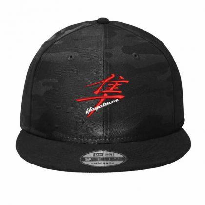 Hayabusa Kanji  Embroidered Hat Camo Snapback Designed By Madhatter