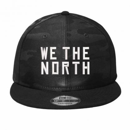 We The North Embroidered Hat Camo Snapback Designed By Madhatter