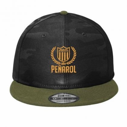 Club Atletico Penarol Embroidered Hat Camo Snapback Designed By Madhatter