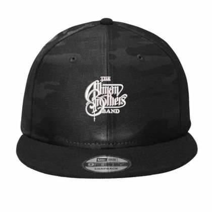 The Allman Brothers Embroidered Hat Camo Snapback