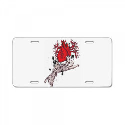 Heart License Plate | Artistshot