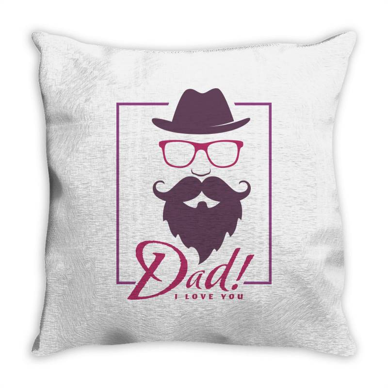 Dad, I Love You Throw Pillow | Artistshot