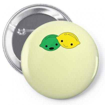 Lemon Lime Pin-back Button Designed By Ismanurmal4