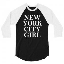 New York City Girl 3/4 Sleeve Shirt | Artistshot