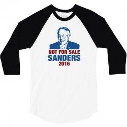 Not For Sale Sanders 2016 3/4 Sleeve Shirt | Artistshot