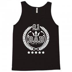 #1 Dad Tank Top | Artistshot