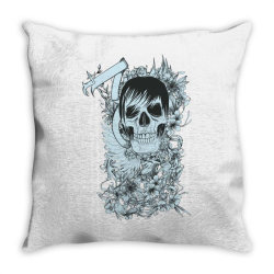 Skull Throw Pillow   Artistshot