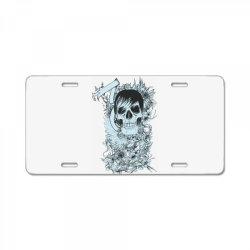 Skull License Plate   Artistshot