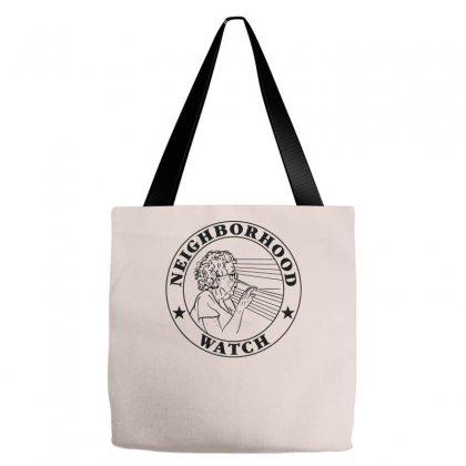 Neighborhood Watch Funny Tote Bags Designed By Mdk Art