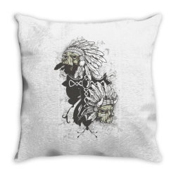 Skull Throw Pillow | Artistshot